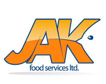 JAK Food services ltd. logo design