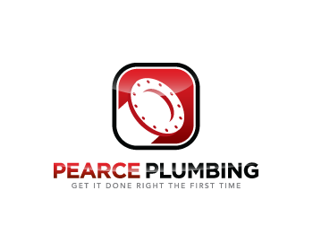 Pearce Plumbing logo design
