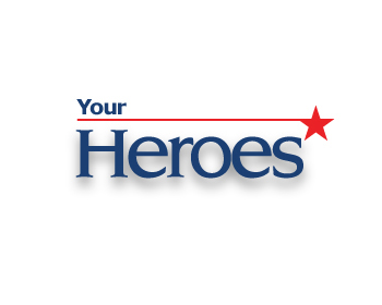 Your Heroes, Inc. logo design