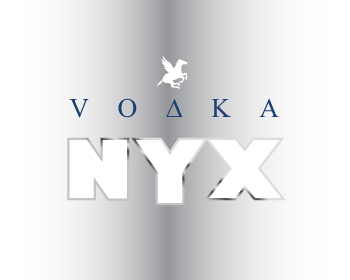 NYX VODKA logo design