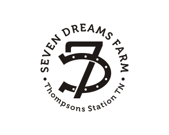 Seven Dreams Farm logo design