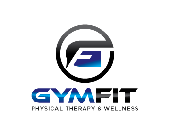 Gymfit Physical Therapy & Wellness logo design