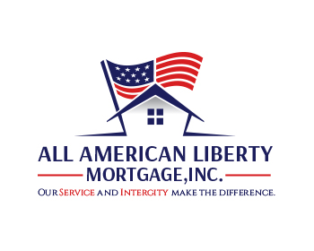 All American Liberty Mortgage, Inc. logo design
