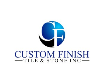 Logo per Custom Finish Tile & Stone Inc