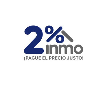 Logo design for 2% Inmo