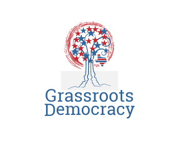 Grassroots Democracy logo design