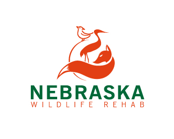 Nebraska Wildlife Rehab logo design