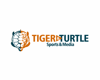 Tiger & Turtle logo design
