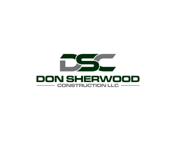 Don Sherwood Construction llc logo design