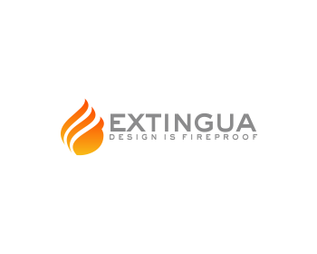Logo design for EXTINGUA
