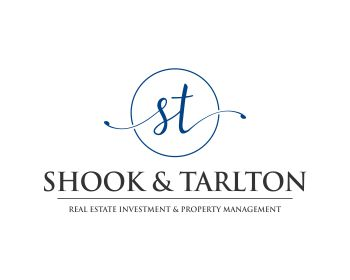 Real Estate logo design for Shook & Tarlton