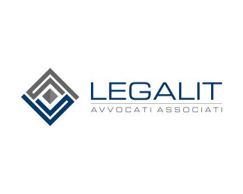Legal logo design for Legalit Avvocati Associati