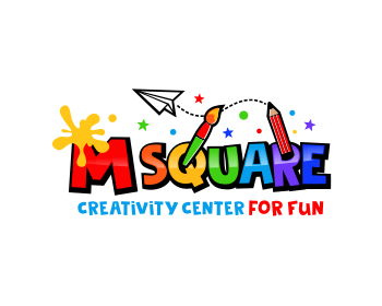 M SQUARE logo design