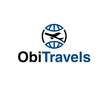 ObiTravels logo design