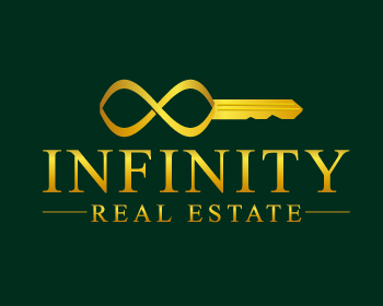 Infinity Real Estate logo design