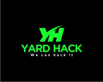Yard Hack logo design