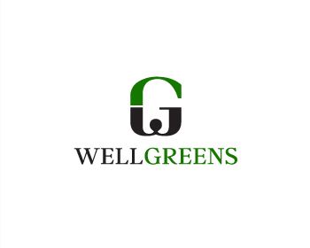 Wellgreens logo design