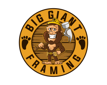 Logo design for Big Giant Framing