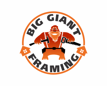 Big Giant Framing logo design