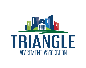 Triangle Apartment Association logo design