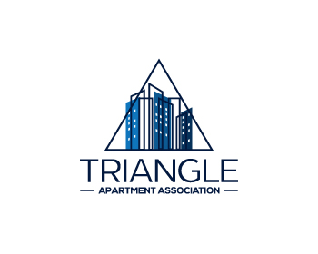Logo design for Triangle Apartment Association
