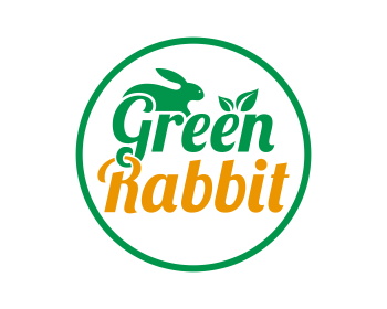 Green Rabbit logo design