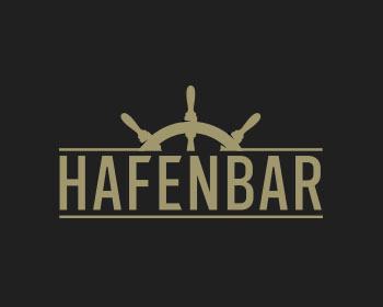 Logo design for Hafenbar