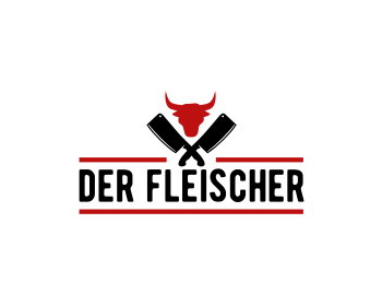 Logo design for Der Fleischer