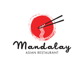 Mandalay logo design