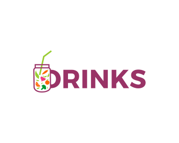 Logo design for DRINKS