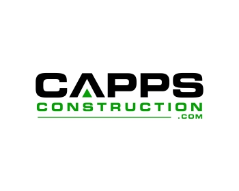 Capps Construction logo design