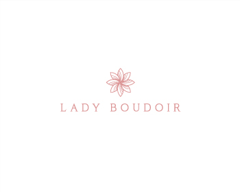 Lady Boudoir logo design