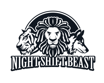 Night Shift Beasts logo design