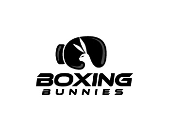 Boxing Bunnies logo design