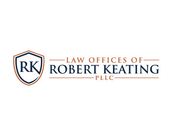 Logo design for Law Offices of Robert Keating, PLLC