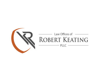 Law Offices of Robert Keating, PLLC logo design