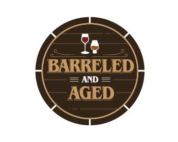 Logo design for Barreled and Aged