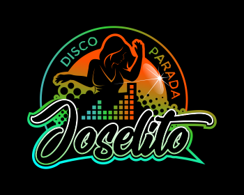 Restaurant logo design for Disco Parada Joselito