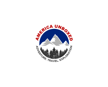 America Unboxed logo design