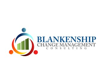 Blankenship Change Management Consulting logo design