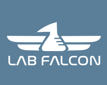 Lab Falcon logo design