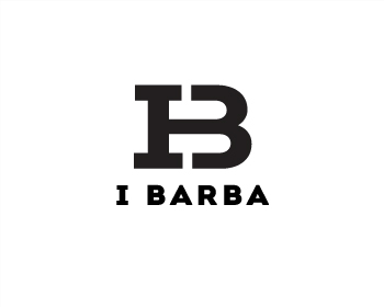 i Barba logo design