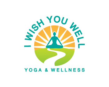 I wish you well logo design