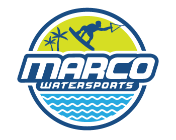 Sports & Recreation logo design for Marco Watersports