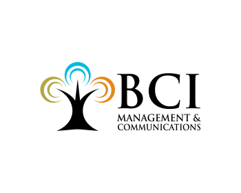 BCI Management & Communications logo design