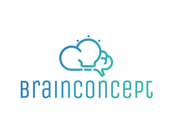 Brain Concept logo design