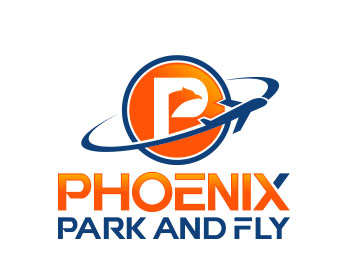 Travel & Hospitality logo design for Phoenix Park and Fly