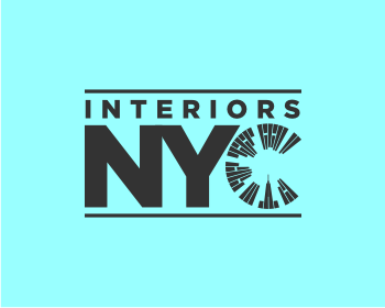 Interiors NYC logo design
