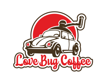 Love Bug Coffee logo design