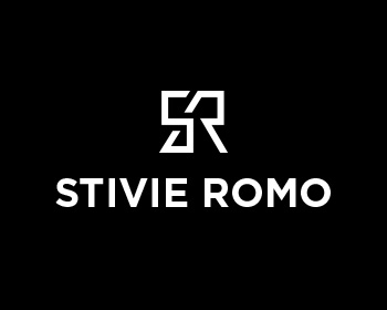Stivie Romo logo design